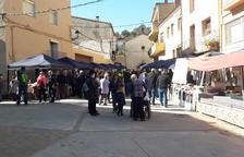 Les Avellanes celebra su tercera Fira de la Sal, con 30 paradas