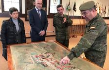 Defensa potenciarà l'ús de l'acadèmia militar de Talarn