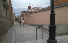 Almacelles estrena las nuevas escalinatas de la calle Orient
