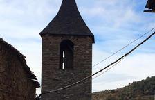 Obres per rehabilitar l'església de Sant Martí de Bescaran