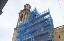 Obras en la iglesia de Montgai para evitar desprendimientos