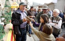 Más de 50 estands de perdices en la feria de Vilanova de Meià