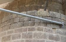 Restauren les pedres de l'ermita de la Pertusa d'Àger