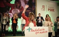 Díaz guanyaria a Andalusia amb un triple empat de Podem, PP i Cs