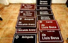 """Fa tres anys, el col·lectiu Arran va retirar molts dels carrers qüestionats per """"franquistes""""."""