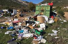 L'Alt Urgell tanca quatre abocadors de voluminosos a causa de l'incivisme