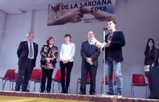 El periodista i escriptor Martí Gironell va rebre ahir el premi Rotllana a Vallfogona de Balaguer.