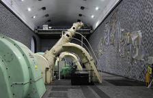 Imagen de archivo del interior de la central de Llavorsí.