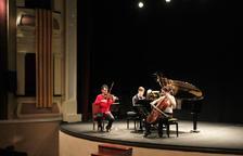 El Trio Halir, ahir al Teatre Armengol de Bellpuig.