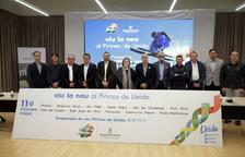 L'acte de presentació de la nova temporada d'esquí ha tingut lloc a la Diputació de Lleida.