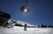 Imatge d'arxiu de l'estació d'esquí Baqueira-Beret.