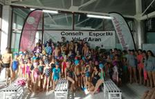 El Comarcal reúne a más de 120 nadadores en Vielha