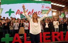 La campanya electoral andalusa puja de to