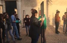 Ataquen l'obra 'Presos polítics' de Santiago Sierra a Mallorca