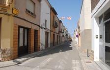 La reforma del carrer Nou de Vilanova de Bellpuig, a principis d'any