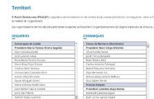 Un error més que sospitós al web oficial del PDeCAT