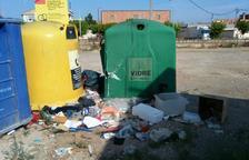 Térmens incrementa la tasa de basura por exceso de residuos sin reciclar