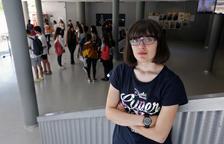 Lourdes Bruna, a la selectivitat del juny d'aquest any.