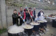 Mil racions de ranxo en els 100 anys de la vaga de La Canadenca a Camarasa