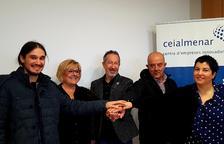 Dos empreses estrenen les instal·lacions del CEI d'Almenar