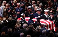 Els Estats Units s'acomiaden de l'expresident George H. W. Bush