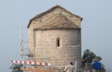 La ermita de La Pertusa, lista tras 5 meses de obras