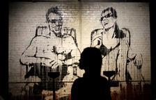 Més de setanta obres de Banksy, entre originals i reproduccions, en una exposició a Madrid.
