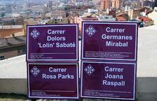 La Paeria anuncia que Rosa Parks, Joana Raspall, Dolors Sabaté i les Germanes Miraball tindran carrer a la ciutat