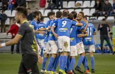 El Lleida ejerce de líder y golea al Conquense
