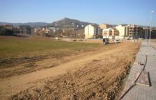 Los terrenos donde irá la escuela en la Cabana del Màrtir.
