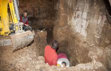 Troben un obús de la Guerra Civil a les obres del molí de Puigverd d'Agramunt