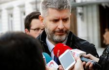 El abogado de Oriol Junqueras, Andreu Van den Eynde