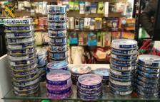 Confisquen CD i DVD de contraban a Cappont