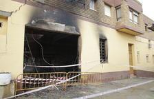 Un incendi per una caldera danya un habitatge i un magatzem a Soses