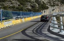 La reforma del pont de la C-14 a Peramola segueix el calendari previst