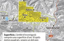 Primers tràmits per a les investigacions prèvies a l'extracció de cobalt a Gerri