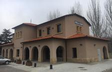 La estación de La Pobla de Segur abrirá el mes que viene
