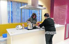 Habiliten un menjador escolar per als alumnes de l'institut del Pont