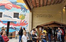 El arte desborda Penelles, que recibe a 2.000 personas en fin de semana y adapta servicios
