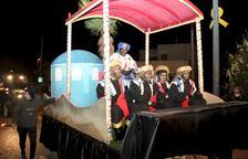 El tren deixa 'penjats' els Reis d'Orient a Golmés
