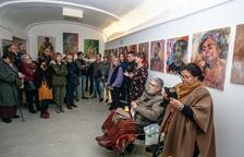 Pinturas de Joan Moragas en el Centre de l'Oli, en La Granadella