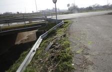 Primera mort a la carretera enguany en una sortida de via a Vallfogona