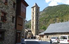 Santa Eulàlia d'Erill la Vall, un dels temples del conjunt.