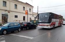 Imatge d'arxiu d'un bus a Balaguer per anar a la Pobla.