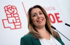 Susana Díaz diu que seguirà al capdavant del PSOE andalús i que serà candidata
