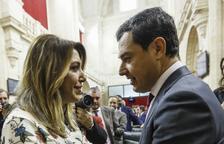 Moreno, investit president de la Junta amb els vots de PP, Cs i Vox