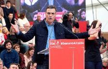 """Sánchez situa al PSOE en la moderació davant una dreta """"decadent"""""""