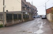 Nuevo pavimento para mejorar la calle Indústria de Anglesola