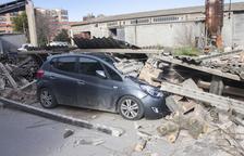 El vent fa caure un mur a Agramunt i la neu en carreteres deixa 559 nens sense classe