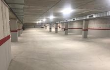Arties estrena el primer parking subterráneo, con veinte plazas